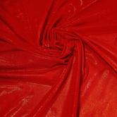 joustava kangas Metallic Verkko Powernet Punainen