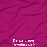 joustava kangas lycra dance crepe hawaiian pink