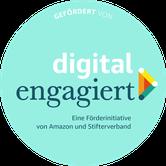 Die Konzeption von etc.pb. wurde ermöglicht durch die Förderung und Unterstützung von digital.engagiert, der Förderinitiative von Amazon und dem Stifterverband. Danke dafür!