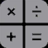 icone représentant des signes mathématiques