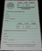 Volkssportabzeichen Ö - 30