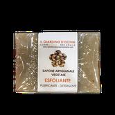 sapone artigianale vegetale esfoliante il giardino d'Ischia