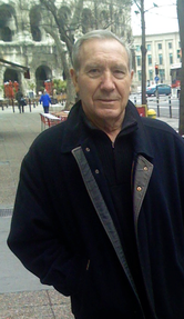 Stanilas Golinski quand il avait 80 ans, toujours fidèle à Nîmes