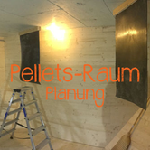 Pelletsraum/Pelletslager planen