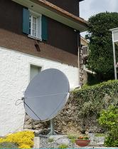 Wettersatellitenempfang in Sattel, Schweiz