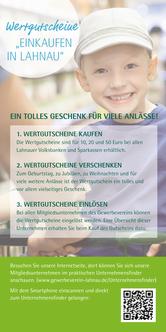 Heimat schenken - Wertgutscheine Lahnau