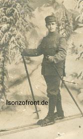 Schütze Emil Rauch während seiner Ausbildungszeit in Isny. Sammlung Isonzofront.de