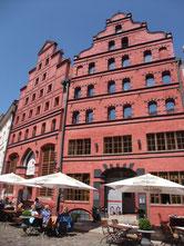 Scheelehof Hotel Stralsund Weltkulturerbe Hansestadt Backstein Gotik