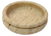 Bowl Fruit Centerpiece Dish Travertine UP & UP DI ROSA & GIUSTI Italy
