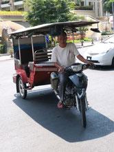 Cambodia,phnompenh, Tuk-tuk