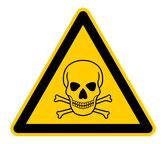Warnsymbol Achtung giftig tödlich