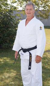 Christian Gagné, Yondan, entraîneur au club de judo Seikidokan