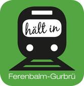IG Bahnhof Ferenbalm-Gurbrü - Info-Flyer, neue Version mit Logo, neue Bilder, 18.01.2013