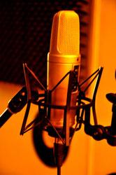 Microfono Rode NT2 utilizado para la grabación de Fusión Lenta de Red Booster