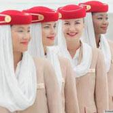 Hôtesse sur Emirates ?
