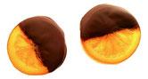 tranche orange - Fruitées - Corné dynastie - chocolat