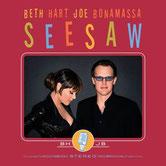 """Neue Scheibe von Beth Hart + Joe Bonamassa """"Seesaw"""" kommt Mitte Mai! (Foto: Mascot)"""