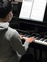 郡山市つちやピアノ教室 大人のピアノレッスン