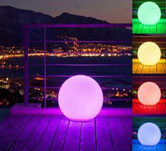 boule led multicolore à louer