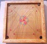 Carrom artisanal motif celte