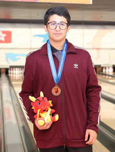 Nasser Al-Mansouri - Bronze Medalist