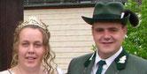 Königspaar 2005 Dieter Briel und Christiane Huft