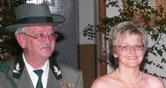 Königspaar 2006 Friedhelm Hofmann und Hiltrud Stutzmann