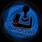 Batocera Linux Logo console de jeu retro