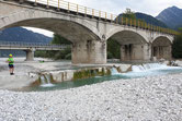 Brückenwehr Carnia