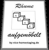 NICE Homestaging - Ausstattung Musterwohnungen in Sanierungs- und Neubau-Objekten