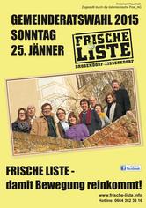 Frische Liste Flyer 2015