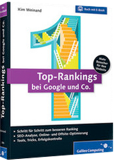 Buchtipp: Top-Rankings bei Google und Co. (Verlag Galileo Press)