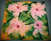 Silk art su foulard