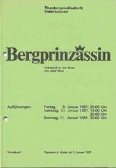 Bärgprinzässin (1981)
