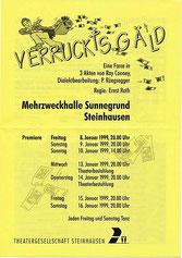Verruckts Gäld (1999)