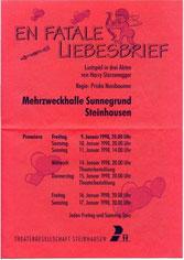 En fatale Liebesbrief (1998)