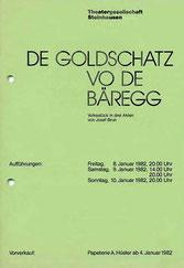 De Goldschatz vo de Bäregg (1982)