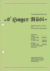 s'Hager Rösi (1985)