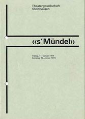 s'Mündel (1974)