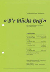 D'r Glücks Graf (1986)