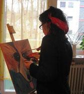 Die Seele musiziert, indem sie zeichnet,      ein Stück von ihrem innersten Wesen heraus.  J.W. Goethe