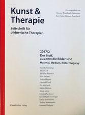 """S. 98 ff.: Rezension zu """"Ein neuer Blick auf mich: Kunsttherapie als Selbsterfahrung"""", R. Weilguni (2017)"""