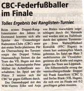 Cronenberger Woche Bericht vom 31.01.2003