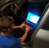 Auto diagnose autoreparatie auto onderhoud van der bij autohandel en reparatie's