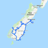 A 10 Day Route Through South Islands Diverse Landscapes