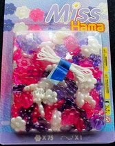 Hama Blumenperlen Sets