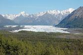 Melanuska Glacier