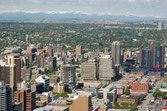 Calgary, Blick vom Tower