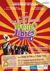 Affiche festival Roues Libres