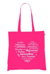 sac coton femme